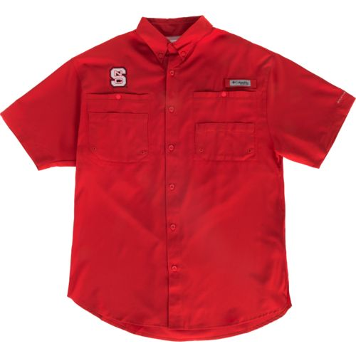 Columbia Sportswear™ Men's North Carolina State University Tamiami™ Button Down Shirt - view number 4