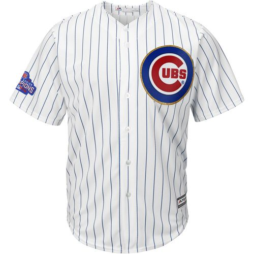 Majestic Men's Chicago Cubs Kris Bryant 17 2016 World Series Champions Cool Base Jersey - view number 2