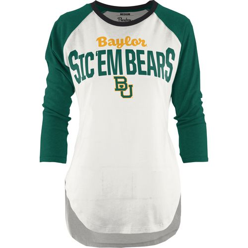 Three Squared Juniors' Baylor University Quin T-shirt
