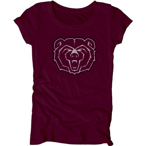 Blue 84 Juniors' Missouri State University Mascot Soft T-shirt