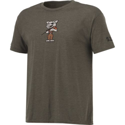 5.11 Tactical Men's Coyote Short Sleeve T-shirt - view number 3