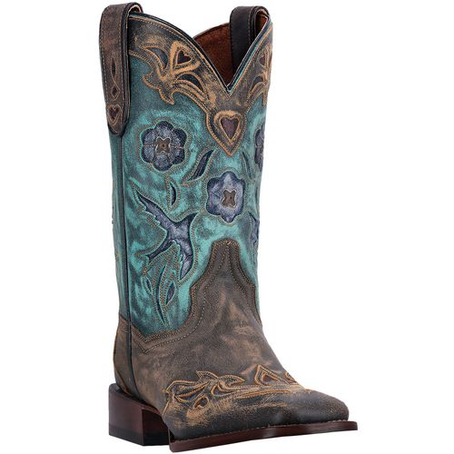 Dan Post Women's Bluebird Sanded Leather Western Boots