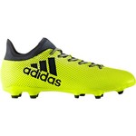 adidas Men's X 17.3 FG Soccer Cleats - view number 3