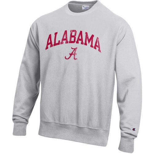 Champion Men's University of Alabama Reverse Weave Crew Sweatshirt
