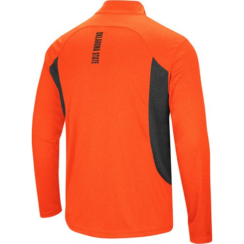 Colosseum Athletics Men's Oklahoma State University Audible 1/4 Zip Windshirt - view number 2