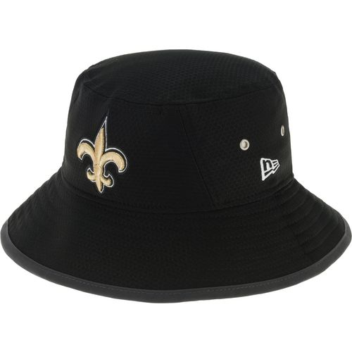 New Era Men's New Orleans Saints Onfield Training Bucket Cap - view number 2