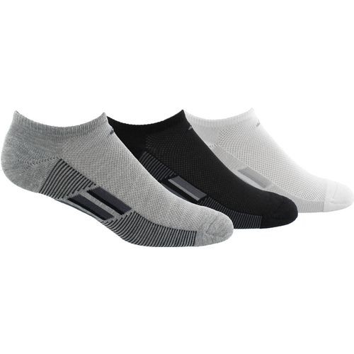 adidas climacool Superlite Stripe No-Show Socks 3 Pack