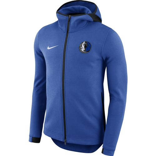 Nike Men's Dallas Mavericks Showtime Full Zip Hooded Jacket