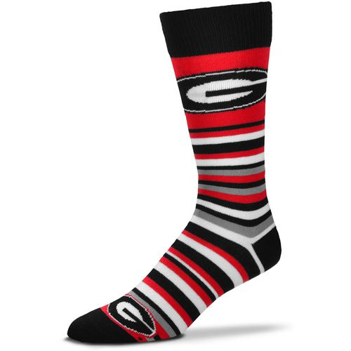 For Bare Feet University of Georgia Lotta Stripe Thin Knee High Dress Socks