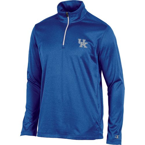 Champion Men's University of Kentucky Victory 1/4 Zip Long Sleeve Pullover