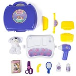 World Tech Toys Pet Grooming 16-Piece Suitcase Play Set - view number 2