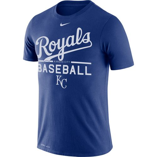 Nike Men's Kansas City Royals Wordmark Practice T-shirt