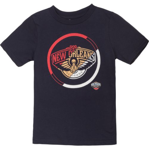 NBA Boy's New Orleans Pelicans Double Slice Short Sleeve T-shirt