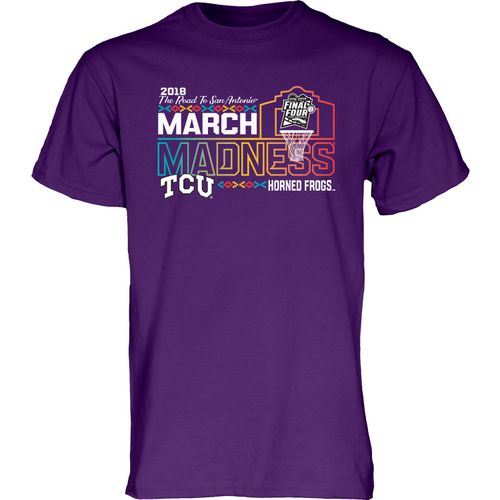 Blue 84 Men's Texas Christian University Mighty March T-Shirt