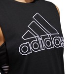 adidas Women's GTP Badge of Sport Muscle Tank Top - view number 5