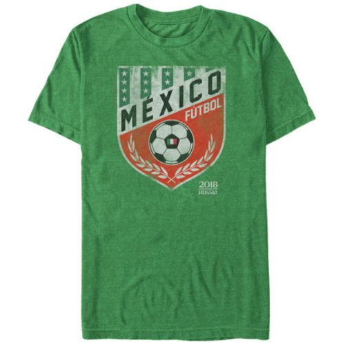 Fifth Sun Men's FIFA Russia 2018 Mexico Crest T-shirt
