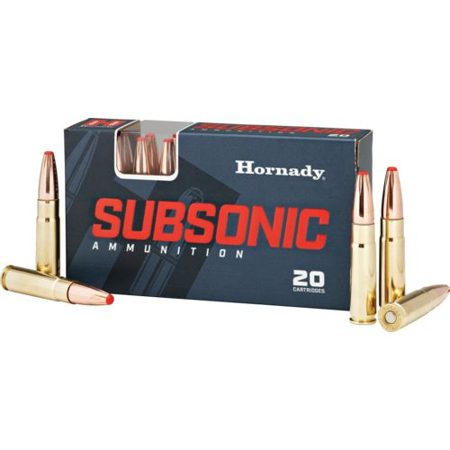 Hornady Sub-X Subsonic .300 Blackout 190-Grain Rifle Ammunition