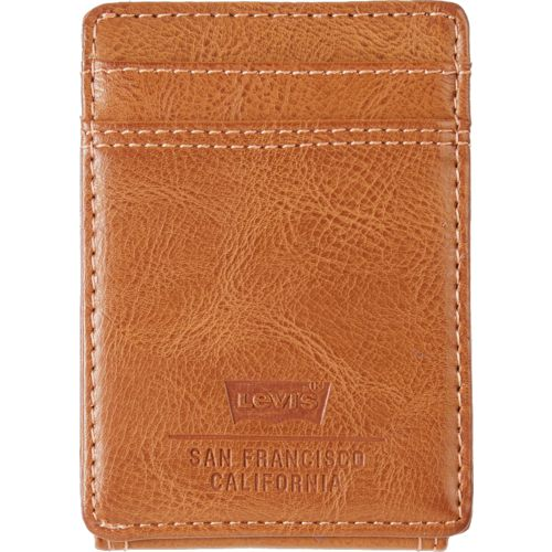 Levi's Men's RFID Magnetic Front Pocket Wallet