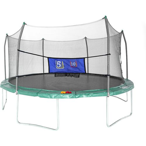 Skywalker Trampolines Green 16 Foot Oval Trampoline With: Enclosed Trampolines & More