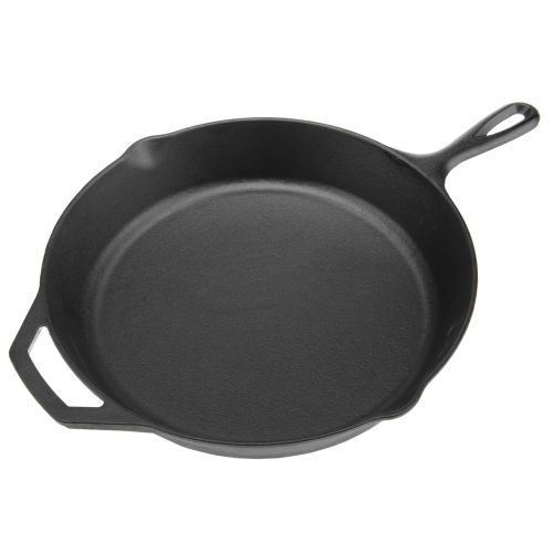 "Display product reviews for Lodge 12"" Preseasoned Cast-Iron Skillet"