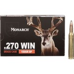Monarch™ SP .270 Winchester 150-Grain Rifle Ammunition