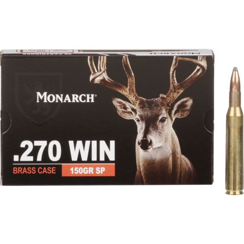 Monarch® SP .270 Winchester 150-Grain Rifle Ammunition
