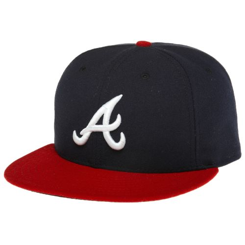 New Era Men's Authentic Collection 59FIFTY Braves Cap