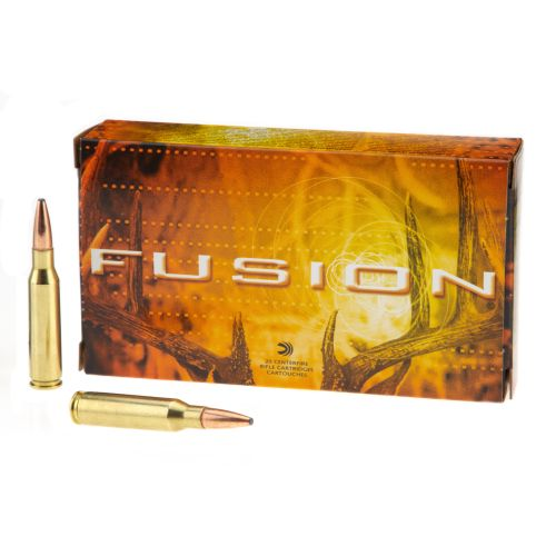 Federal® Fusion® 7 mm-08 Remington 140-Grain Rifle Ammunition - view number 1