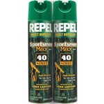 Repel Sportsman 6.5 oz. Max Formula Insect Repellant 2-Pack