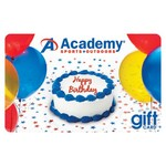 Academy  Gift Card - White