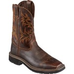 Justin Men's Stampede Square Toe Work Boots - view number 2