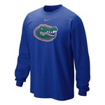 Nike Men's University of Florida Long Sleeve Classic Logo T-shirt