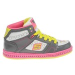 SKECHERS Girls' Twinkle Toes Cherished High Athletic Lifestyle Shoes