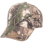 Outdoor Cap Kids' 6-Panel Camo Twill Cap