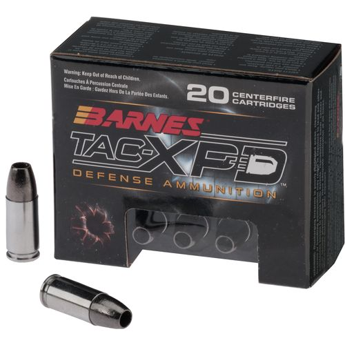 BARNES® TAC-XP 9mm Luger +P 115-Grain Bullets