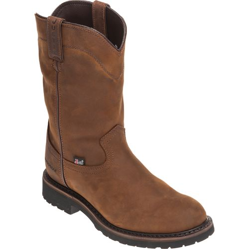 Justin Men's Wyoming Waterproof Wellington Work Boots - view number 2