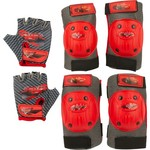 Disney Boys' Cars Protective Gear Pad and Glove Set