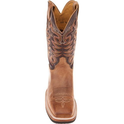 Justin Men's AQHA Q-CREPE® America Cowhide Western Boots - view number 4
