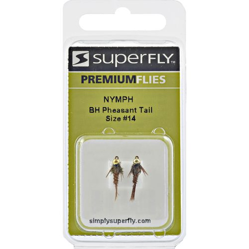 Superfly Bead Head Pheasant-Tail Size 14 Nymph Flies 2-Pack - view number 1