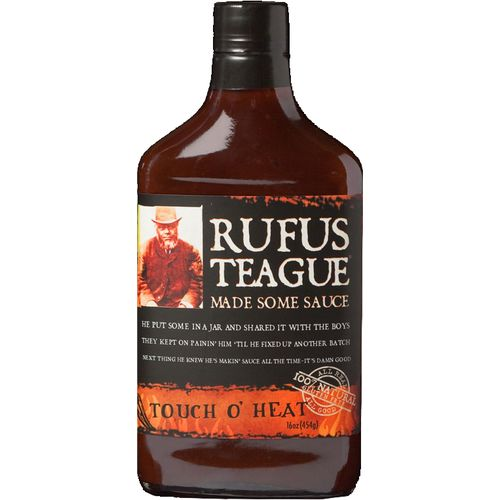 Display product reviews for Rufus Teague Touch O' Heat Barbecue Sauce