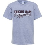 Viatran Kids' Texas A&M University Full Melon T-shirt