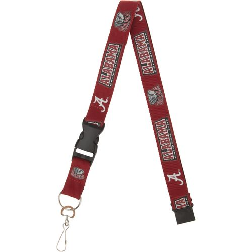 NCAA Adults' University of Alabama 2-Tone Lanyard - view number 2