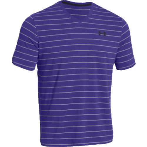 Under Armour Men 39 S Charged Cotton Pinstripe V Neck T