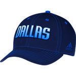adidas Adults' Dallas Mavericks Structured Flex Cap