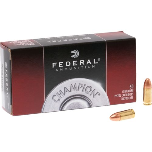Federal Premium® 9mm Luger 115-Grain FMJ Handgun Ammunition