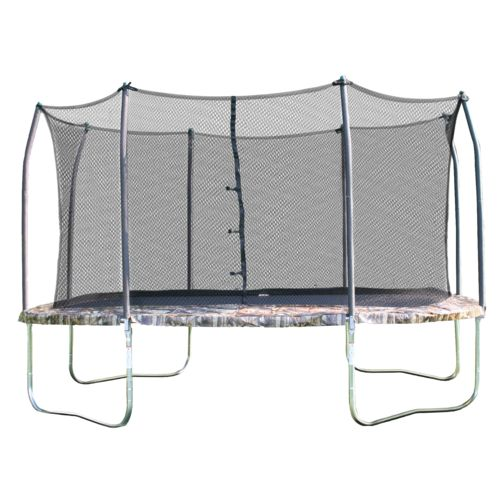Display product reviews for Skywalker Trampolines 14' Square Trampoline with Enclosure
