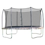 Skywalker Trampolines 14' Square Trampoline with Enclosure - view number 1