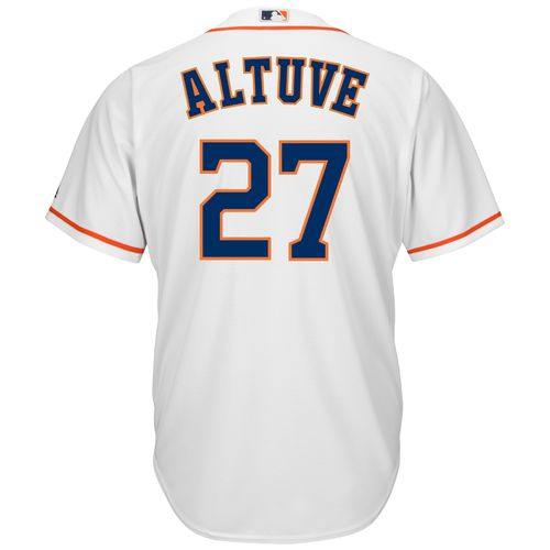 Display product reviews for Majestic Men's Houston Astros José Altuve #27 Cool Base® Home Jersey
