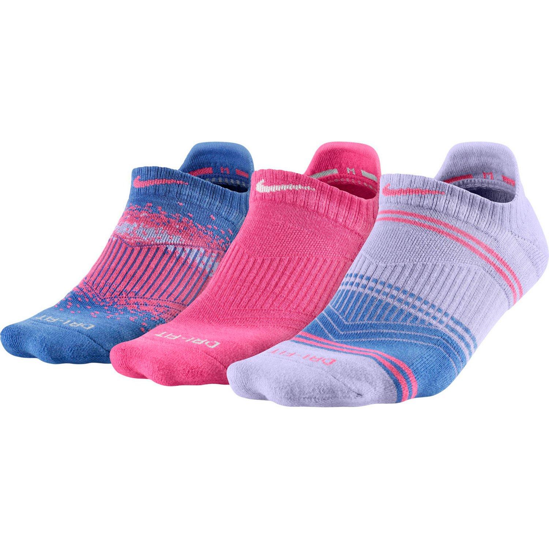 Nike Women's Dri-FIT Gym Cushion No-Show Tab Socks
