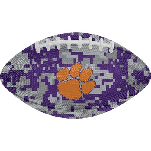 GameMaster Clemson University Digi Camo Mini Rubber Football